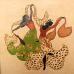 Bailarinas-sobre-cuero