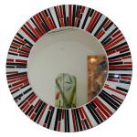 Vidrio- espejo con pasta acrilica